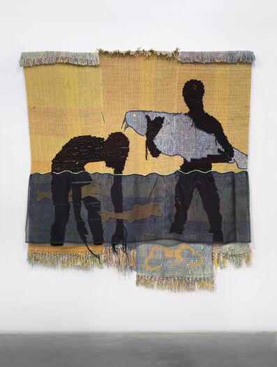 Diedrick Brackens, ' in the decadence of silence, ', 2018