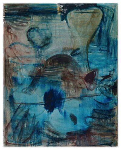 Zhang Enli 张恩利, 'Dark-Blue', 2016