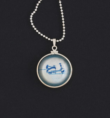 """Ryan Zoghlin, 'Pendant: Scooter, 2020, from the Series, """"Talisman""""', 2020"""