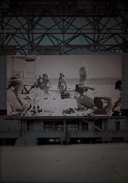 Michael Massaia, 'Beach&Billboard-Winter-Atlantic City,NJ', 2020