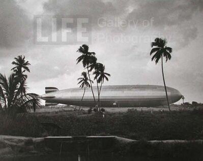 Alfred Eisenstaedt, 'Graf Zeppelin (Grounded), Brazil', 1937