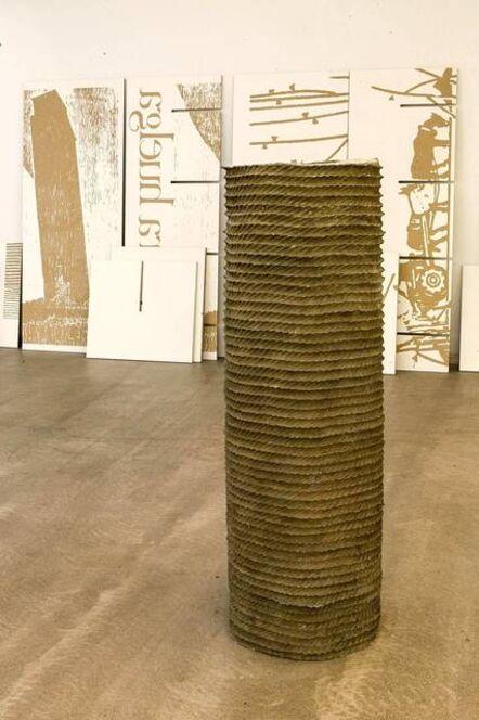 Asier Mendizabal, 'Columna infame#3', 2014