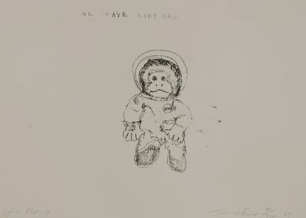 Tracey Emin, 'Space Monkey', 2009