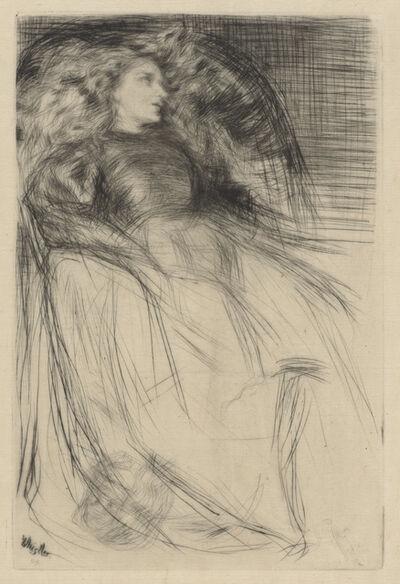 James Abbott McNeill Whistler, 'Weary', 1863