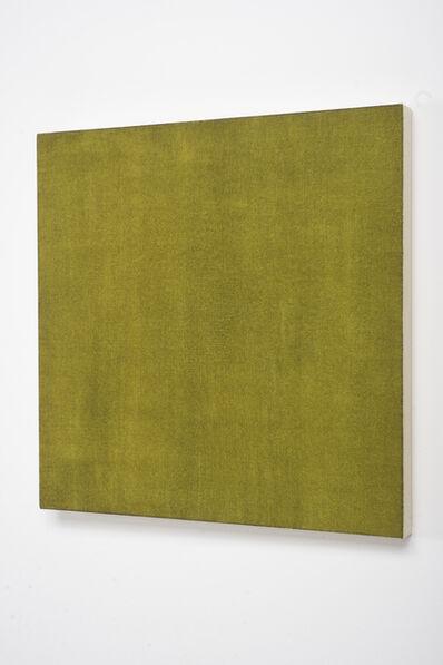 Marcia Hafif, 'Glaze Painting: Burnt Green Earth', 1995