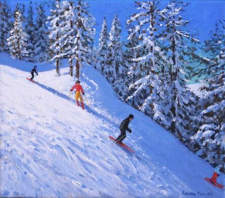 Andrew Macara, 'Steep Slope, Les Arcs, France'