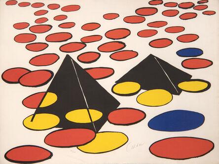 Alexander Calder, 'Black Pyramids', 1974