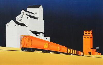 David Thauberger, 'Night Train', 2016