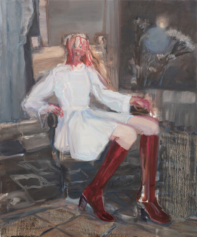 Janet Werner, 'Twitch (Red Boots)', 2018