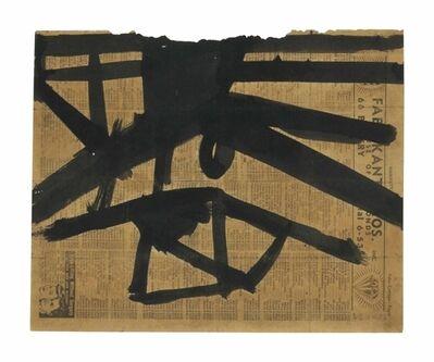 Franz Kline, 'Ink Study for High Street '
