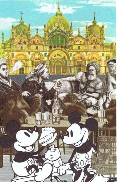 Peter Blake, 'Mickey's Birthday Party', 2010