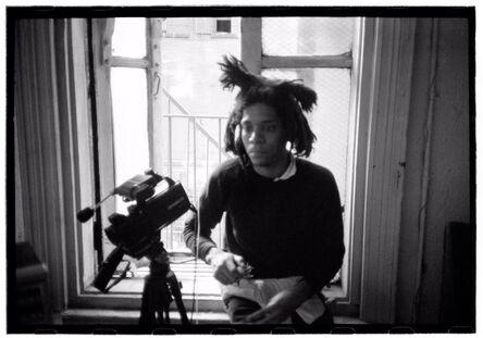 Roland Hagenberg, 'Basquiat with video camera', 1983