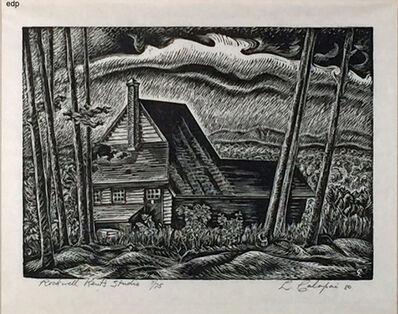 Letterio Calapai, 'ROCKWELL KENT'S STUDIO', 1980