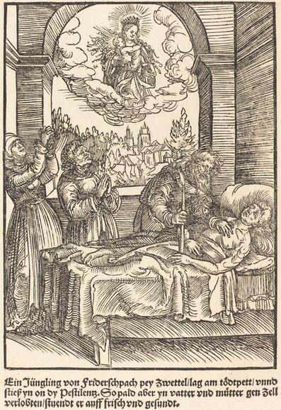 Master of the Miracles of Mariazell, 'Ein Jungling von Friderschpach ...', ca. 1503