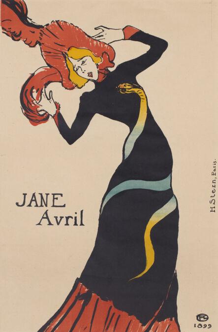 Henri de Toulouse-Lautrec, 'Jane Avril', 1889