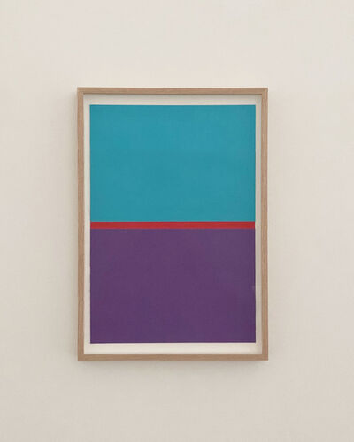 JES, 'PURPLE, RED, BLUE', 2020