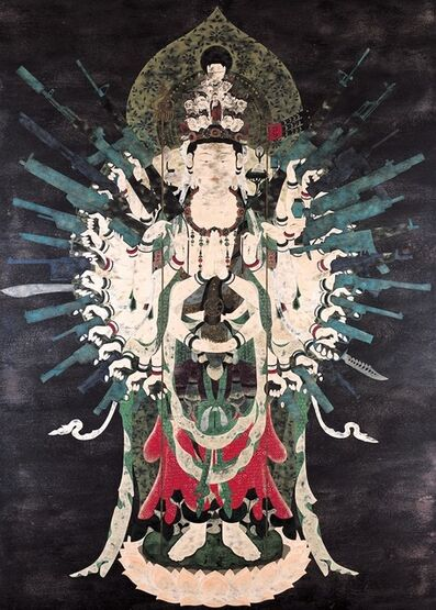 Tenmyouya Hisashi, 'Neo Thousand-armed Kannon', 2002