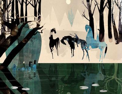Daniel Egnéus, 'Enchanted Forest, Daybreak', 2014