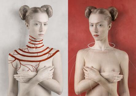 Katerina Belkina, 'For Kahlo. White / For Kahlo. Red', 2007