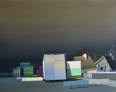 Ulf Puder, 'Sommerliche Dorfstraße', 2020