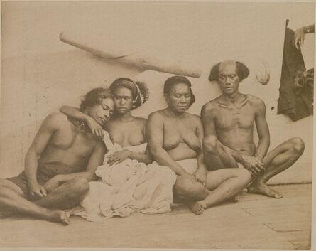 Paul Emile Miot, 'Royal Family of Vahitao'