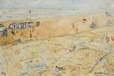 Henri-Victor Wolvens, 'Mer et dunes', 1959