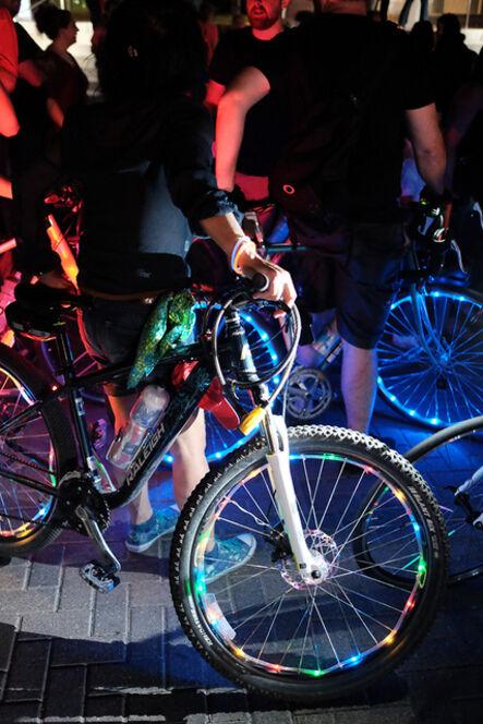 Bike Friendly Cedars, 'The Lights of Aurora', 2015