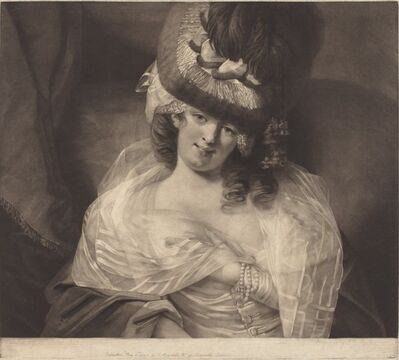 John Raphael Smith after The Reverend Matthew William Peters, 'Love in Her Eyes Sits Playing', 1778