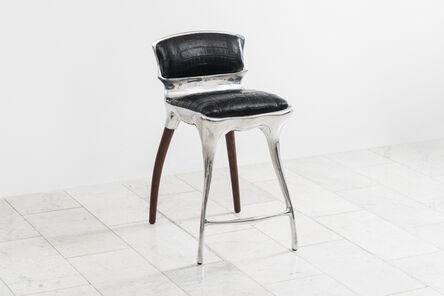 Alex Roskin, 'Alex Roskin, High Chair / Bar Stool in Aluminum, USA', 2021