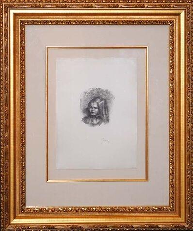 Pierre-Auguste Renoir, 'Claude Renoir, Tourne a Gauche', ca. 1904