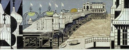 Edward Bawden, 'Brighton Pier', 1958