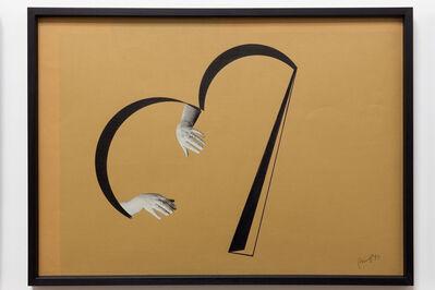 Tomaso Binga, 'Ritratto Analogico', 1973
