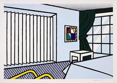 Roy Lichtenstein, 'BEDROOM', 1991