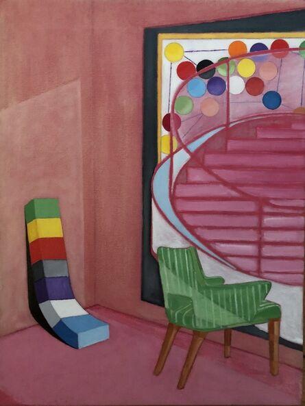 Samuel Iztueta, 'Green Chair', 2018