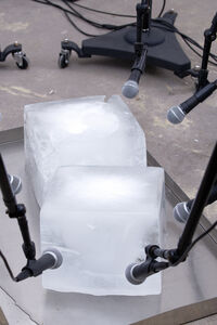 Paul Kos, 'Exhibition view of Sound of Ice Melting (detail) at Gallery GP & N Vallois'