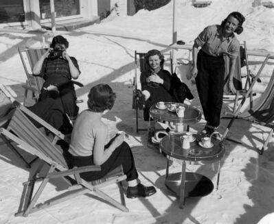 Herbert Matter, 'Ski Picnic', ca. 1940