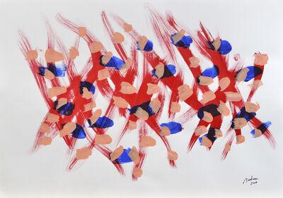 Marcel Barbeau, 'Fugue retour', 2013