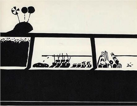 Wayne Thiebaud, 'Candy Counter', 1970
