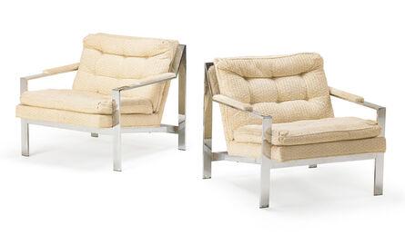 Cy Mann, 'Cy Mann Pair Of Armchairs', 1970s