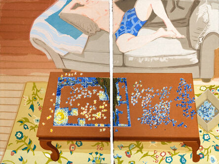 Stella Ebner, 'Making Starry Night', 2013