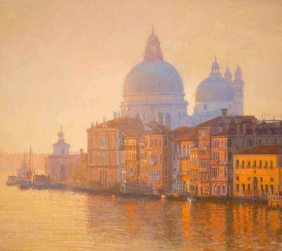 Nicholas Verrall, 'Santa Maria della Salute, Emerging from the Mist', 2020