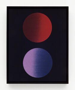 John Opera, 'Double Lens (R-V)', 2018