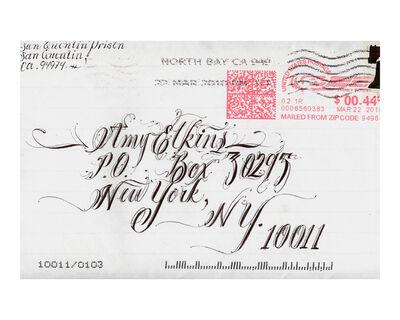 Amy Elkins, 'Envelope Art sent from Death Row', 2009-2016