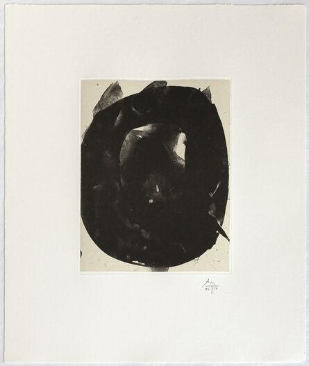 Robert Motherwell, 'Octavio Paz Suite: Nocturne V', 1988