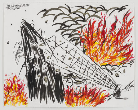 Raymond Pettibon, 'No Title (The great Caruso)', 2015