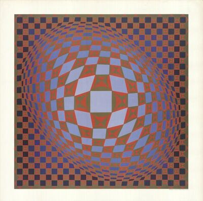 Victor Vasarely, 'Untitled', 1985