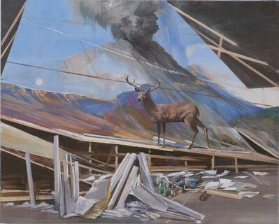 Adam Cvijanovic, 'Imaginary Studio with Deer', 2012
