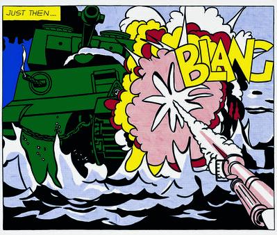 Roy Lichtenstein, 'Live Ammo (Blang)', 1962