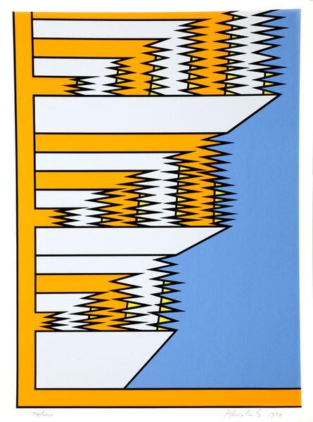 Nicholas Krushenick, 'Untitled 9', 1979