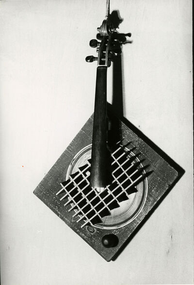 Man Ray, 'Silent Harp', 1944